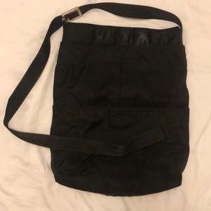 Black Nylon Large MAC Cosmetics Bag